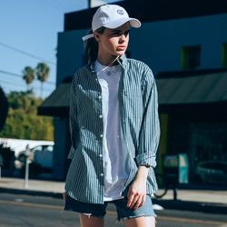 18ss 플루크 WOMEN 스트라이프 셔츠 FLS018C802 NB