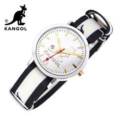 [KANGOL] 캉골시계 나토밴드시계 KG112322 BWB LOGO