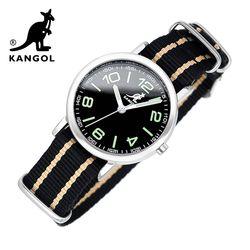 [KANGOL] 캉골시계 나토밴드시계 KG111323 BGB