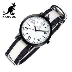 [KANGOL] 캉골시계 나토밴드시계 KG111322 BWB LOGO