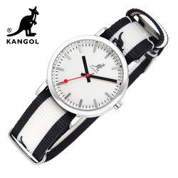 [KANGOL] 캉골시계 나토밴드시계  KG110323 BWB LOGO