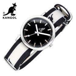 [KANGOL] 캉골시계 나토밴드시계 KG110321 BWB LOGO