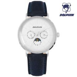 돌핀 DP 536-11 WHITE 썬앤문 남성시계