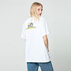 [앨빈클로]AST-3252 Surf Island 반팔 티셔츠