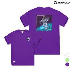[앨빈클로]AST-3516p Astronaut 반팔 티셔츠