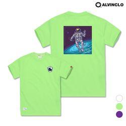 [앨빈클로]AST-3516m Astronaut 반팔 티셔츠
