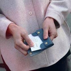 파인Rd 퍼플(명함지갑)