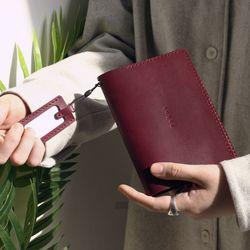 윈슬로우Rd 다크브라운(여권지갑)