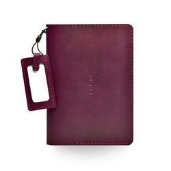 윈슬로우Rd 퍼플(여권지갑)