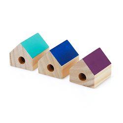 나무로 만든집 연필깎이3005375