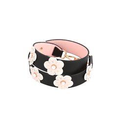 [라템] 흩날리는 벚꽃 스트랩(블랙)