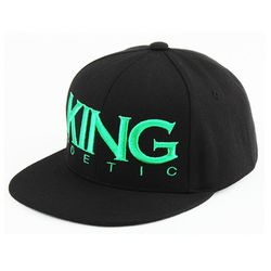 [킹포에틱] SNAPBACK KP 1108 (BLACKGREEN)