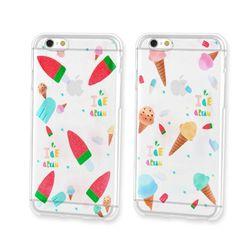 LG X파워 투명케이스 (F750) AJ-icecream