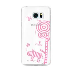 LG Q6 투명케이스 (LG X600) AJ-FoalZebra