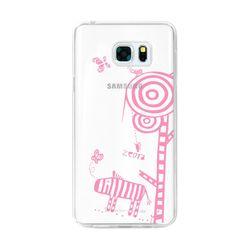 LG Q8 투명케이스 (LG X800) AJ-FoalZebra