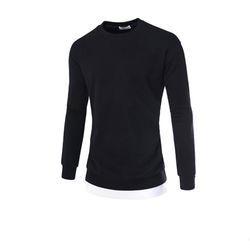 남성 레이어드 사이드라인 긴팔 티셔츠 CAL77
