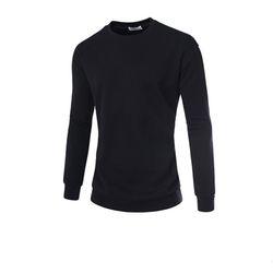 남성 크루넥 사이드라인 긴팔 티셔츠 CAL75