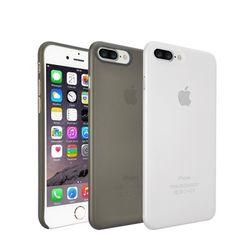 오자키 아이폰 8 7 플러스 O!coat 0.4 젤리 케이스