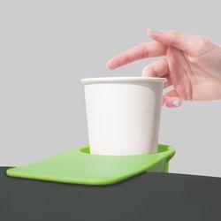 휴대폰 거치 원터치 테이블 클립 집게형 컵홀더