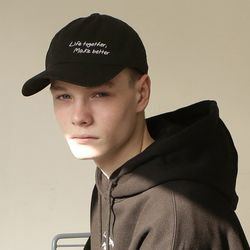 L.T.M.B ball cap [Black]
