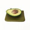 leather wallet - avocado green