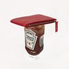 leather wallet - ketchup red