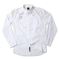 그린바나나 Flyaway White Shirts