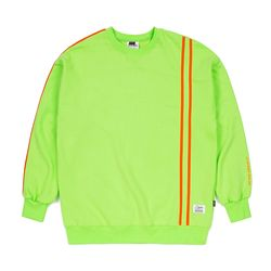 LINE SPORTS OVERSIZED CREWNECK NEON GREEN