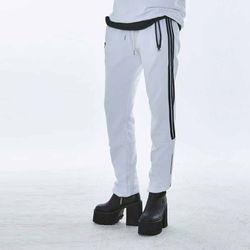 [예약판매 3/28 발송] UNISEX Care label point Joger pants MRP001 (White)