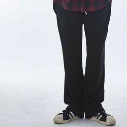 UNISEX Melroy cotton TrackSuit pants MRP003(Black)