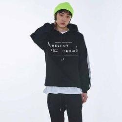 UNISEX Care label point hoodie MRT007 (Black)