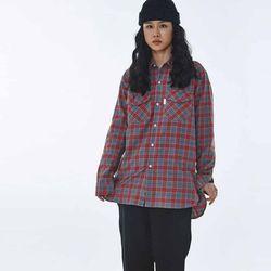 UNISEX Hooda pocket Shirt MRT005 (Red)