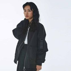 UNISEX O-ring MA-1 Jacket MRO005 (Black)