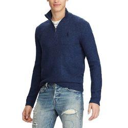 폴로 하프 반집업 니트 스웨터 4344 003 네이비