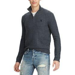 폴로 하프 반집업 니트 스웨터 4344 001 다크차콜