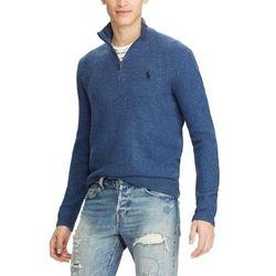 폴로 하프 반집업 니트 스웨터 4344 004 블루