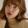 [박시연 착용] Joli Flare 3 Layers Earrings