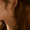 [클리어런스] Joli Large Hoop Earrings