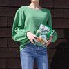 Cotton natural blouse