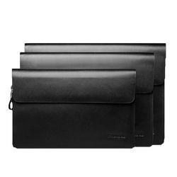 파디오 가죽 클러치 손가방 맨스백 P3007 (size-M)