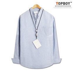 [탑보이] 시원해보이는 기본핏 차이나 셔츠 (DO268)