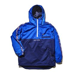 BSRABBIT Intense anorak jacket BLUE