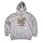 BSRABBIT THE BR HOODIE GRAY