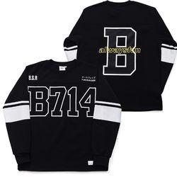 BSRABBIT B714 PULLOVER BLACK