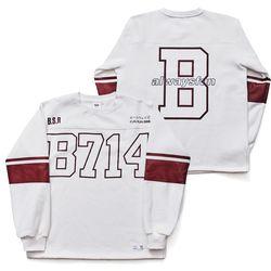 BSRABBIT B714 PULLOVER WHITE