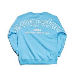 BSRABBIT BSRALWAYS CREWNECK SKYBLUE
