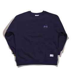BSRABBIT THE B CREWNECK NAVY