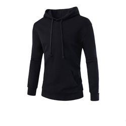 남성 포켓 사이드라인 후드 티셔츠 CAL76