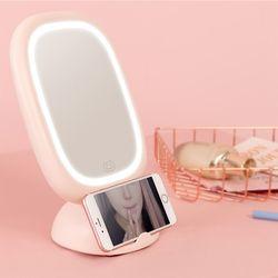 탈부착이 가능한 LED 메이크업 거울 램프 바바라