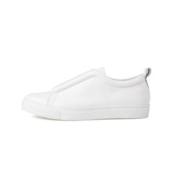 ELASTIC BAND SLIP ON (WHITE)